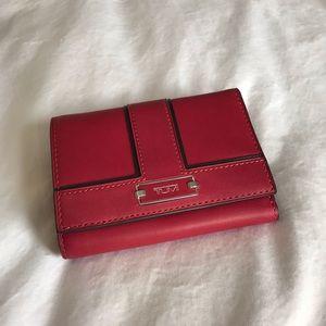 New TUMI Trifold Leather Wallet RFID Blocking